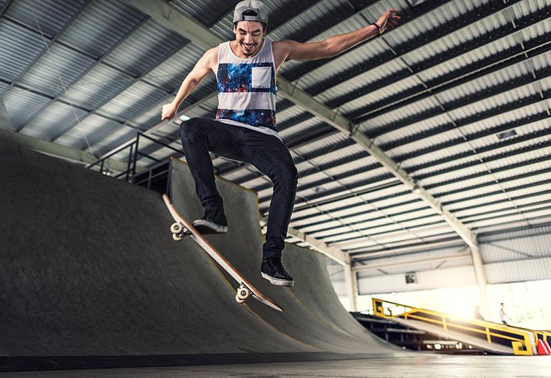 Skateboarder Skateboard