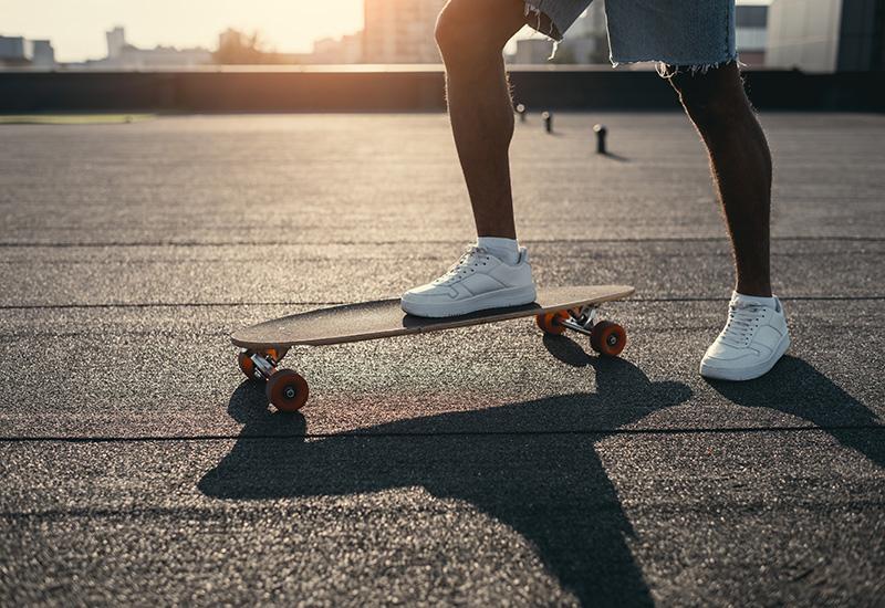 Lijas para skateboard